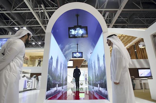 Dubai airport will scan your face as you walk through a video tunnel