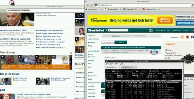 'Web' beta promises a modernized browser for the Raspberry Pi