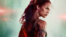 Alicia Vikander's photoshopping in Tomb Raider poster comes in for heavy mockery