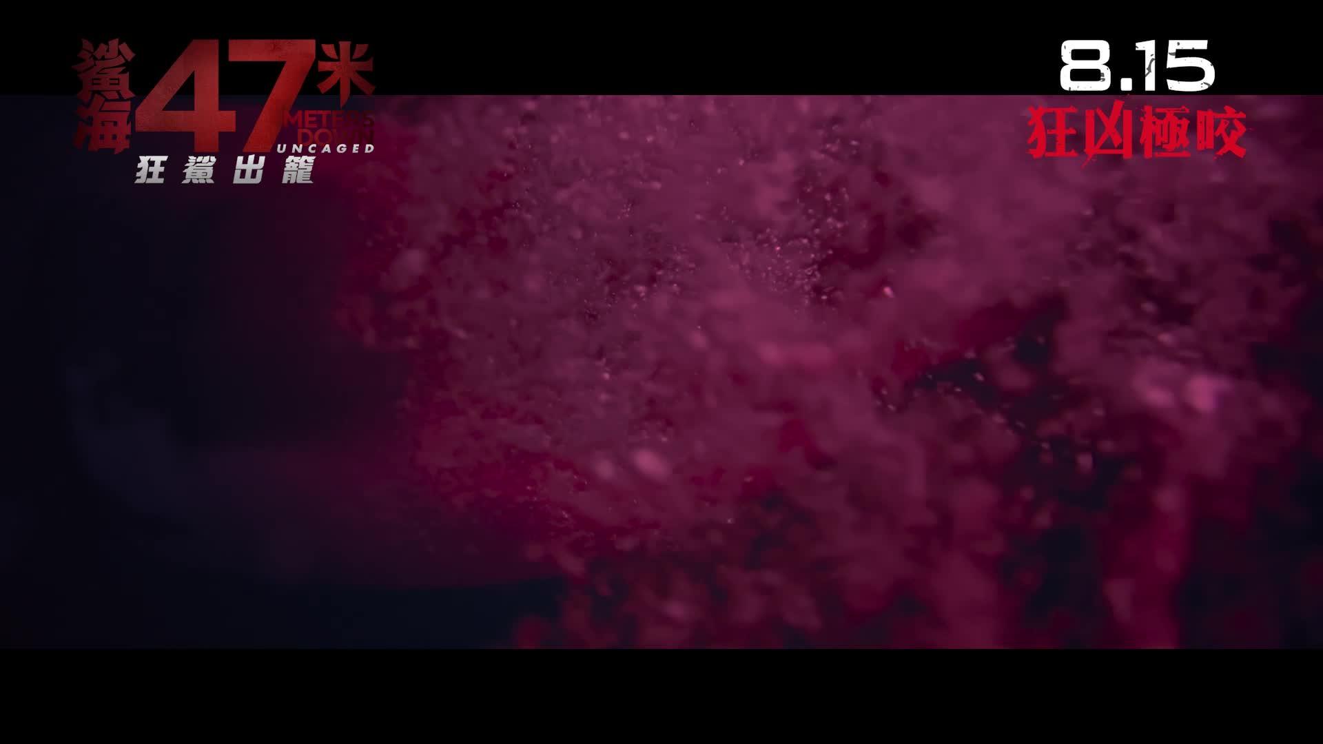 《鯊海47米:狂鯊出籠》電影預告
