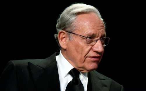 Former Washington Post reporter Bob Woodward at the White House Correspondents' Association dinner, April 29, 2017