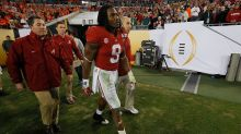 Alabama RB Bo Scarbrough suffered broken leg against Clemson