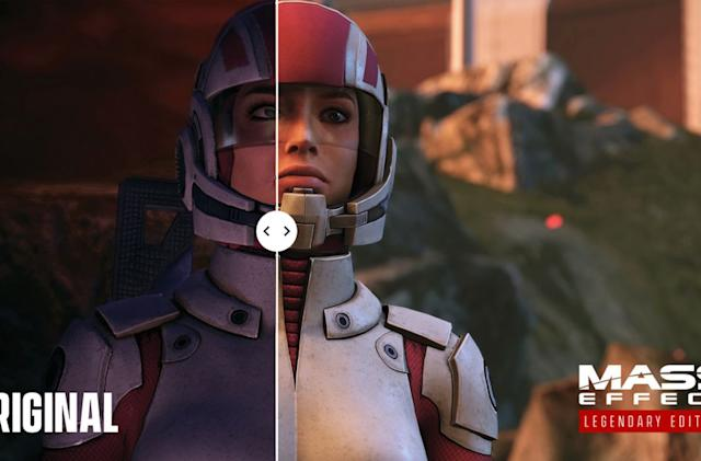 'Mass Effect Legendary Edition' comparison trailer shows off the upgrades