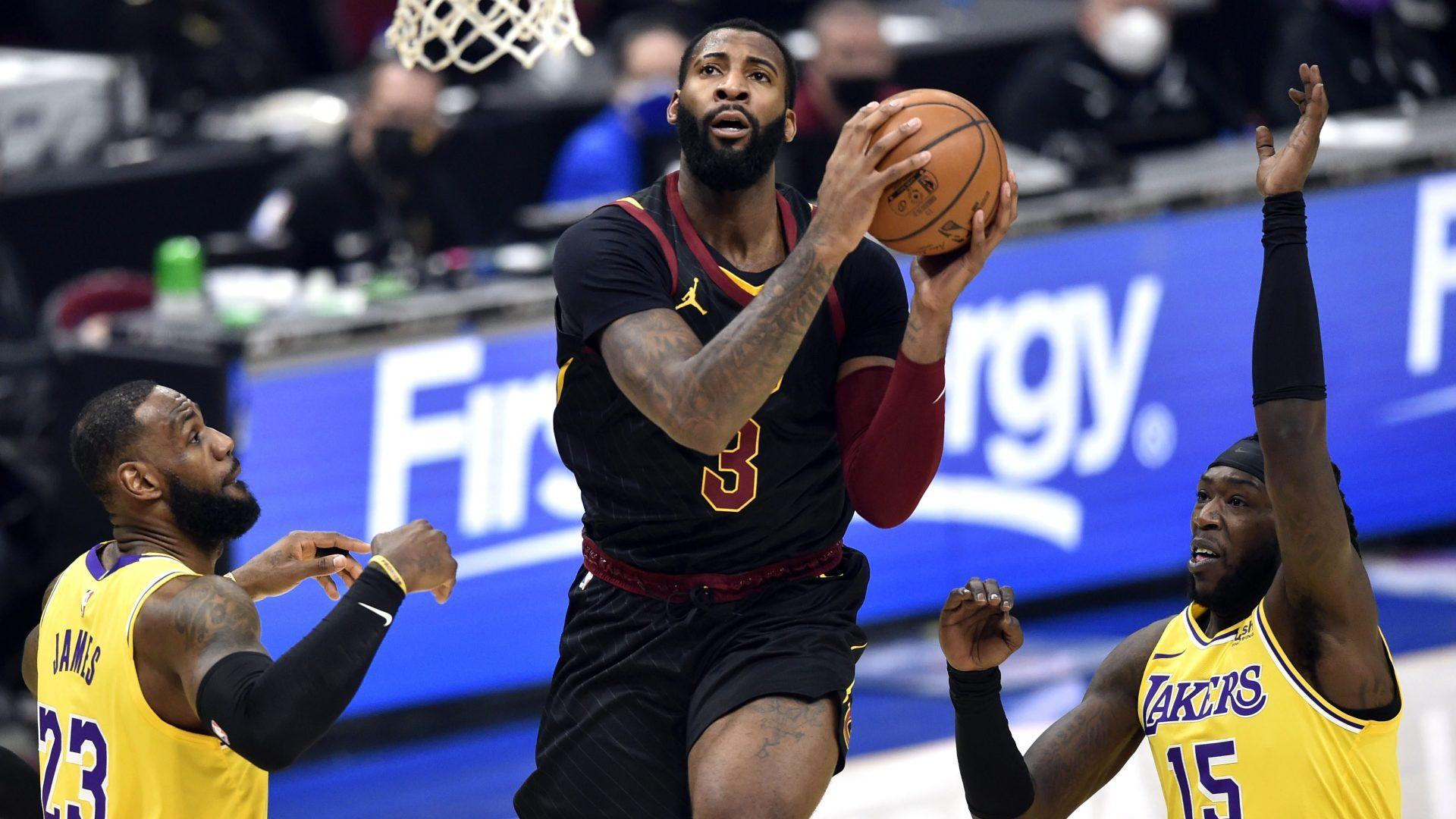 Rumor: Andre Drummond could join Lakers if he gets Cavaliers buyout - Yahoo Sports