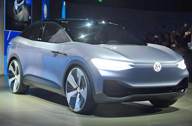 VW's first ID electric car for the US may be a crossover