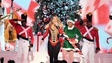 Mariah Carey celebrates All I Want For Christmas Is You getting to No.1 25 years after original release