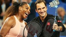Roger Federer and Serena Williams in major tennis announcement