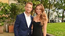 Jenson Button shares photo of baby son after hip surgery