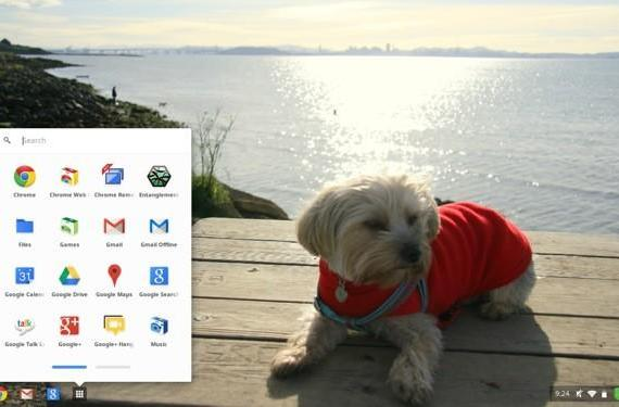 Chrome OS update revamps app list and Google Drive saves, allows relentlessly adorable wallpapers