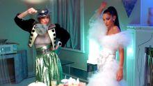 La familia Hadid recrea la escena más mítica de Beetlejuice para Vogue (VIDEO)