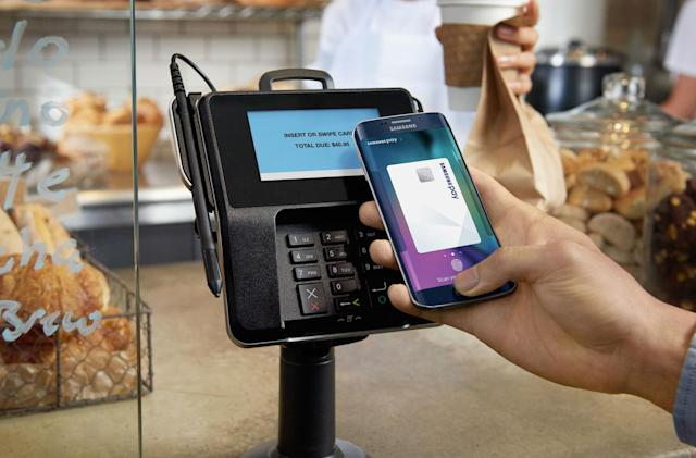 Samsung Pay starts rolling out in Canada