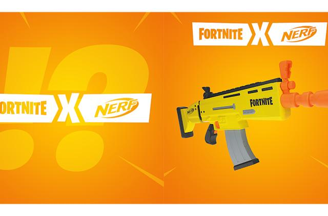 Nerf's first 'Fortnite'-inspired gun is the AR-L Blaster