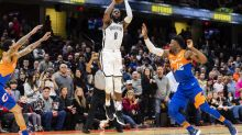 DeMarre Carroll's buzzer-beater 3 helps Nets outlast Cavaliers, 148-139 in 3OT
