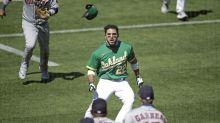 Astros-A's brawl: Ramon Laureano's suspension reduced to four games, per report