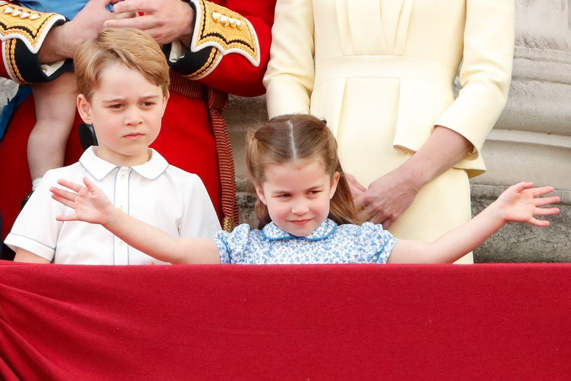"""<p>Princess Charlotte was a total ham up on the Buckingham Palace balcony at Trooping the Colour. She's clearly mastered her family's signature move: the royal wave. </p><p><a href=""""https://www.townandcountrymag.com/society/tradition/g27791365/prince-george-princess-charlotte-prince-louis-trooping-the-colour-2019-photos/"""" target=""""_blank""""></a><strong><a href=""""https://www.townandcountrymag.com/society/tradition/g27791365/prince-george-princess-charlotte-prince-louis-trooping-the-colour-2019-photos/"""" target=""""_blank"""">See more photos of the Cambridge kids at Trooping.</a></strong></p>"""