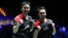 Tak Menyangka Menangi Kejuaraan Dunia Bulutangkis 2019, Ahsan / Hendra Makin Lapar Gelar