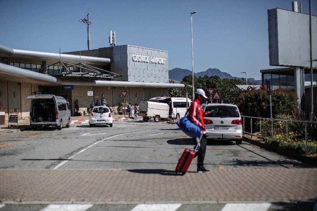 George, a town of just 150,000 residents on South Africa's south coast, is home to Africa's first 'green' airport to be powered by the sun (AFP Photo/Gianluigi Guercia)