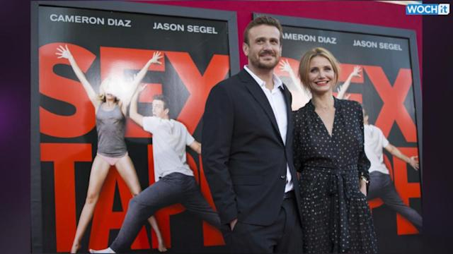Cameron Diaz, Jason Segel Show Their 'Sex Tape' At L.A. Premiere: It's A 'One-Night Adventure'