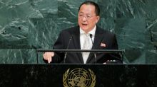 North Korea's foreign minister blasts Donald Trump during UN speech