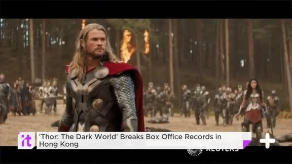 'Thor: The Dark World' Breaks Box Office Records In Hong Kong
