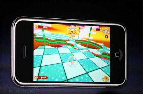 Super Monkey Ball for iPhone shown at Apple keynote