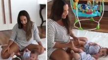 Ivete Sangalo mostra as filhas gêmeas pela primeira vez