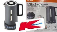 Kmart's 'heavenly' new smart kettle flying off the shelves