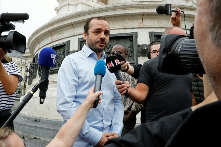 "Francois Lambert said he felt ""relief"" by the death of his uncle following a years-long legal battle (AFP Photo/FRANCOIS GUILLOT)"
