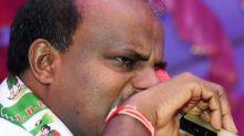 'Becoming CM was like drinking poison': Kumaraswamy breaks down