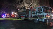 NJ fire sends 2 to hospital