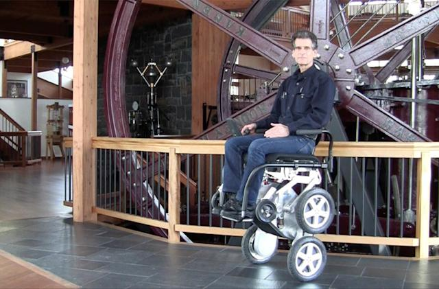 Toyota is bringing back Dean Kamen's stair-climbing wheelchair