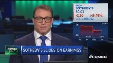 Sotheby's shares down after artwork 'pricing error'