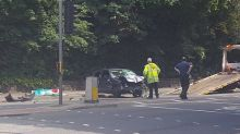 Horror crash in Stockport leaves couple fighting for their lives