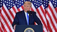 Em discurso contraditório, Trump diz que já ganhou