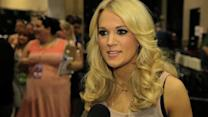 Academy of Country Music Awards - Carrie Underwood Interview