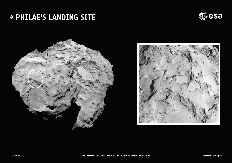 Target locked': Comet mission eyes Wednesday landing