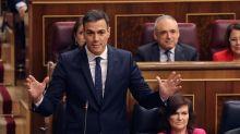 """Sánchez ve """"rehén de su pasado"""" a Casado, que alerta del presupuesto """"ilegal"""""""