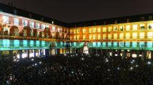 La Plaza Mayor de Madrid proyecta el mayor video mapping de España