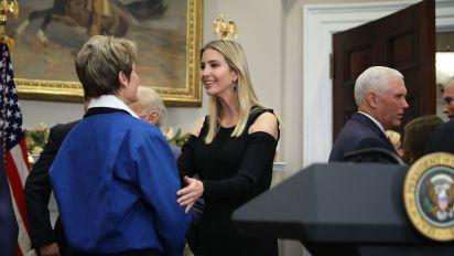Ivanka Trump wears $108 dress from her own brand