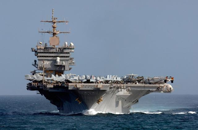 US Navy decommissions the first nuclear-powered aircraft carrier