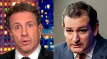 Chris Cuomo slams Ted Cruz for breast milk tweet during impeachment and not paying attention to the trial