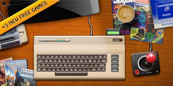 Commodore 64 1.2 released in the App Store with three new free games