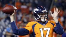 Where have we seen this before? Brock Osweiler comes in for Broncos at QB
