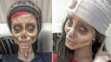 Instagram star known as 'zombie' Angelina Jolie arrested in Iran