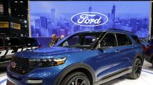 Ford surges after earnings drive past estimates