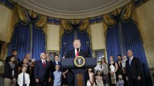 Trump says upcoming health vote is GOP's chance to keep vow