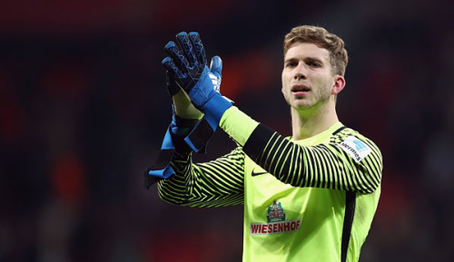 Bundesliga: Baumann deutet Verlängerung mit Wiedwald an