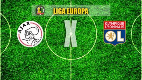 Ajax recebe Lyon em duelo pela semifinal da Liga Europa