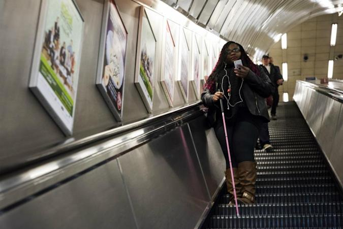 Bluetooth beacons are helping the blind navigate London's Tube