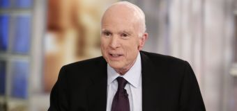McCain in hospital due to treatment side effects